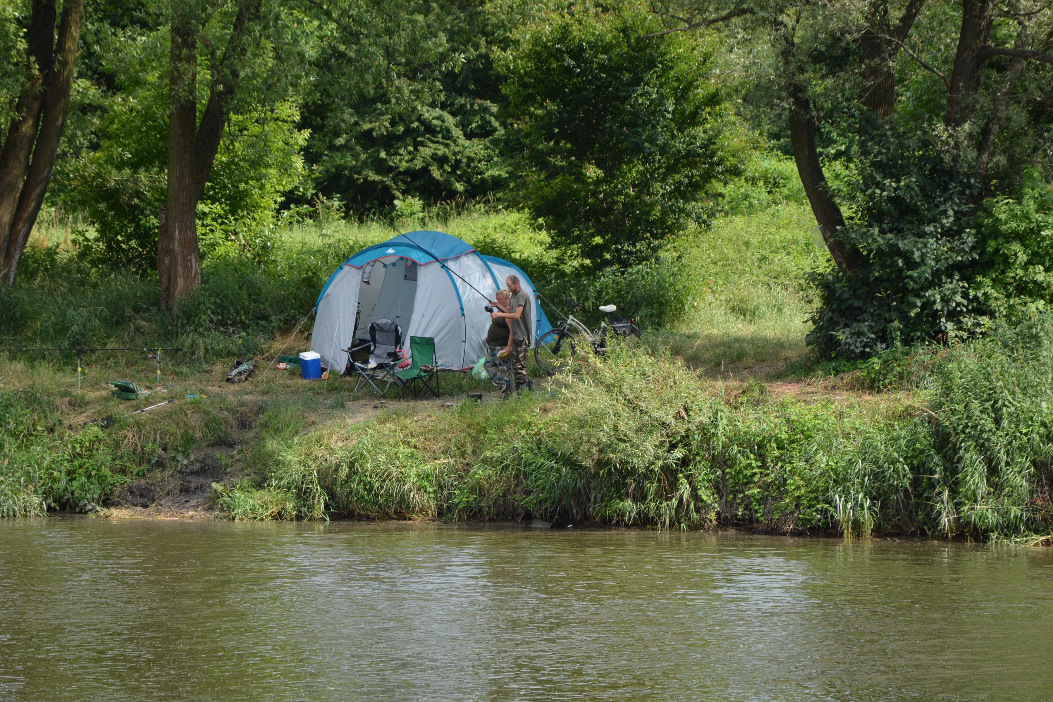 Pełne połączenie camping Alberta